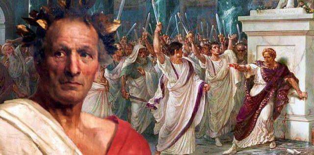 An illustration of Julias Caesar.