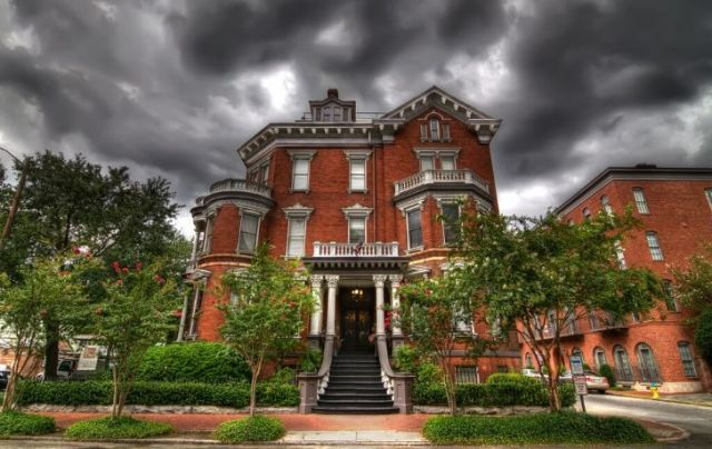 A haunted house in Georgia