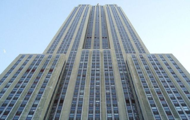 The Empire State Building was built partly with limestone from Indiana