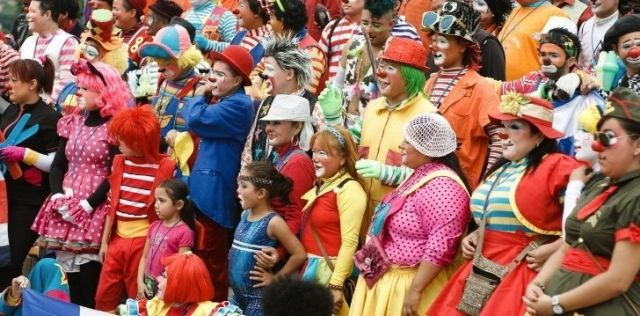 There is an international clown day
