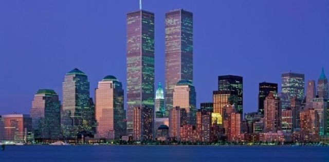 The Twin Towers were known as north and south towers
