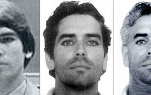 Three photos of Glen Stewart Godwin at three different ages