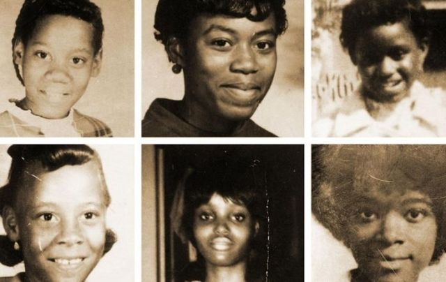 Photos of the six black girls killed by The Freeway Phantom