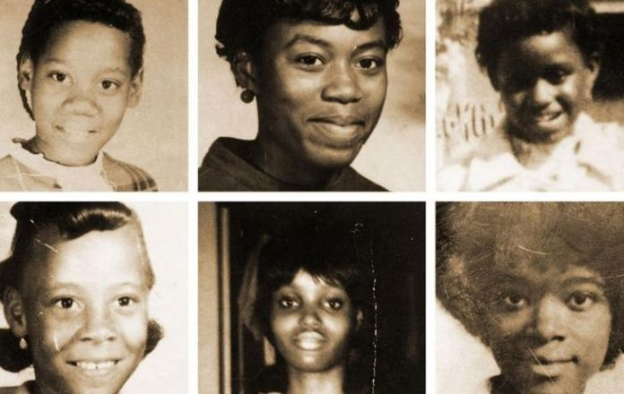 Photos of the six black girls killed by The Freeway Phantom