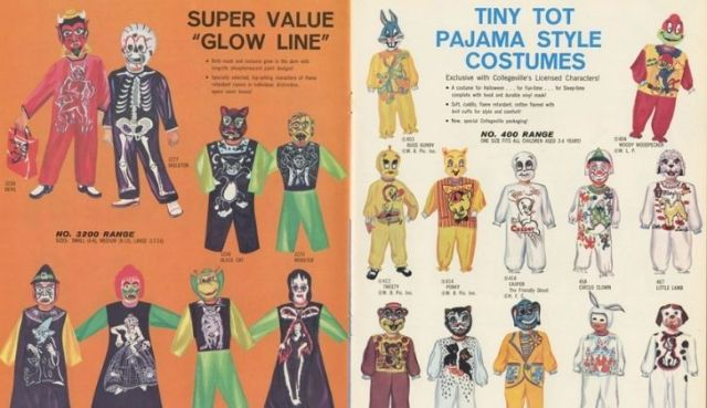 An old magazine showing some Collegevillege Costumes