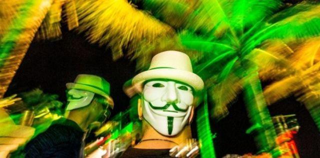 San Juan Halloween party