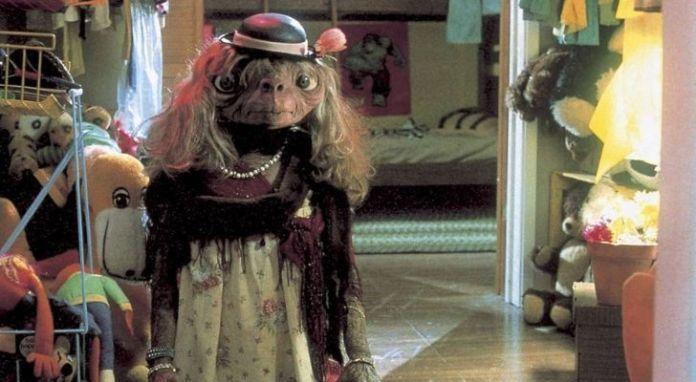 E.T. dressed up