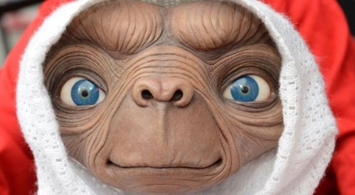 E.T. at Madame Tussauds waxworks
