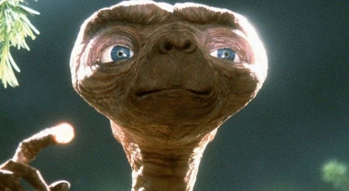 E.T up close