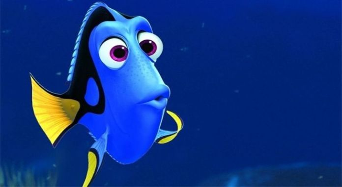 Pixar's Dory from Finding Nemo and Finding Dory