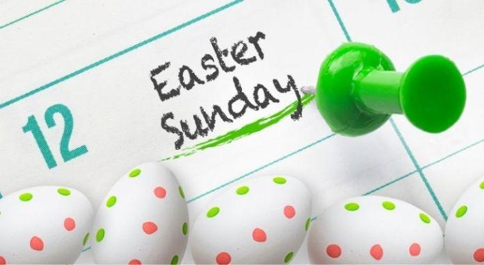 Easter Sunday Calendar