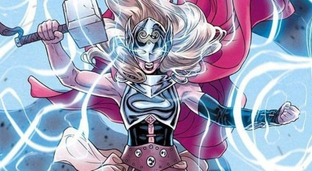 Jane Foster, Thor's lover