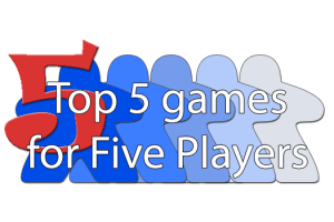 Top 5 games for Five Players