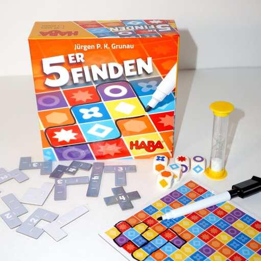 5er Finden game