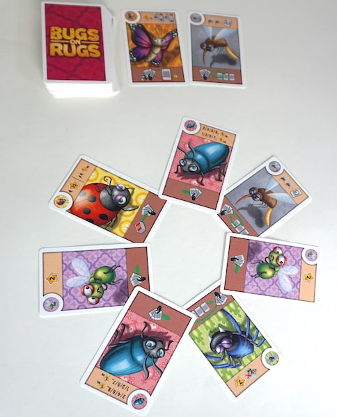 Preview Bugs On Rugs Elementary Entomology The Family Gamers