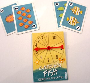 Catchn Fish spinner and cards