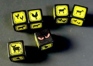 Chupacabra and animal dice
