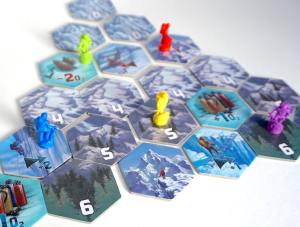 Dicey Peaks - climbing the mountain
