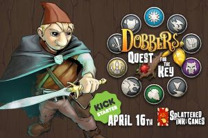 Dobbers Quest for the Key, Kickstarter April 16th