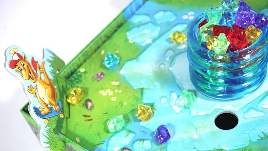 "yellow dragon child, a scattering of gems, and the ""ice tower"""