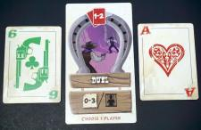 Duel with single cards: 6 and Ace
