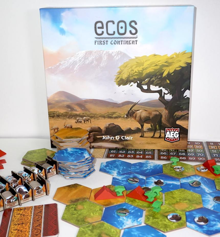 Ecos: First Continent boardgame