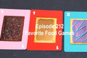 Episode 212 Favorite Food Games