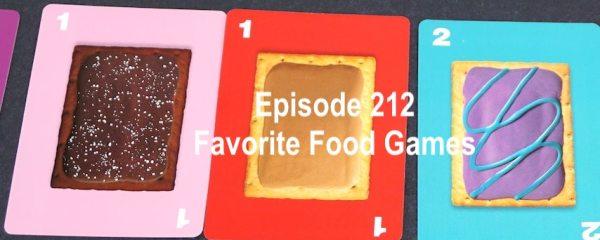 Episode 212 Favorite Food Games