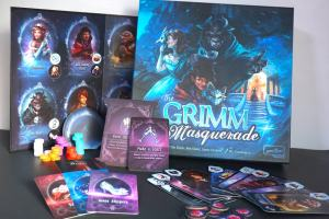 The Grimm Masquerade - game components