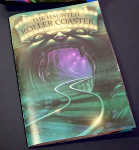 book from EXIT: The Haunted Roller Coaster