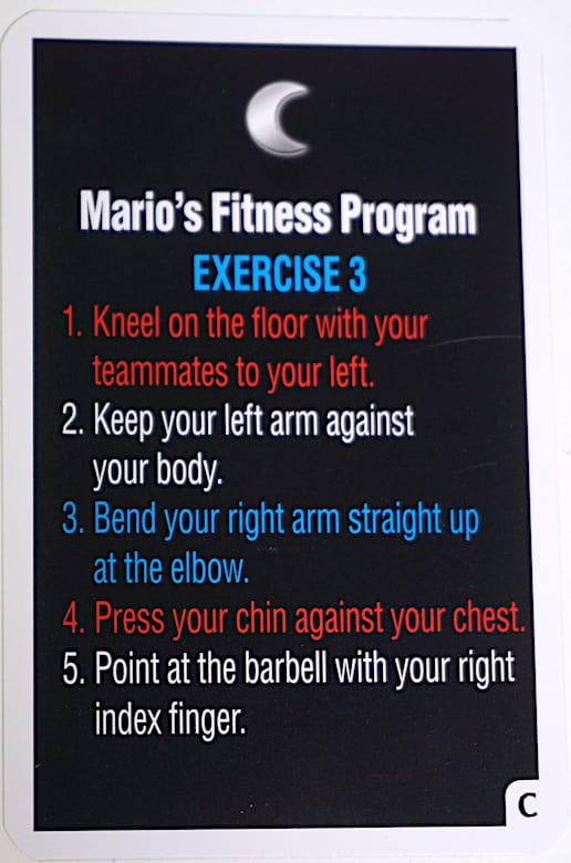 Mario's Fitness Program: Exercise 3