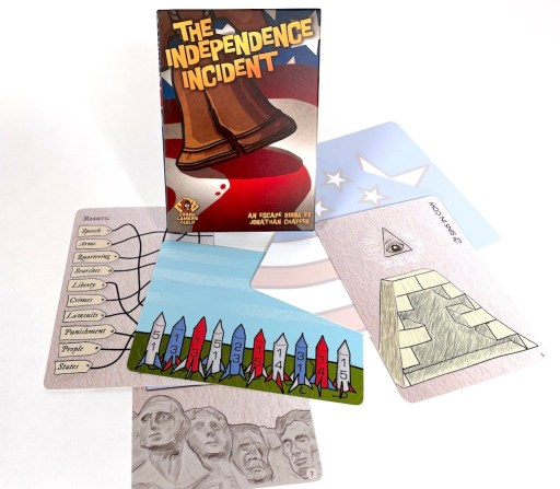The Independence Incident with cards