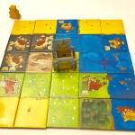 Kingdomino complete board