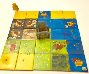 Kingdomino complete board