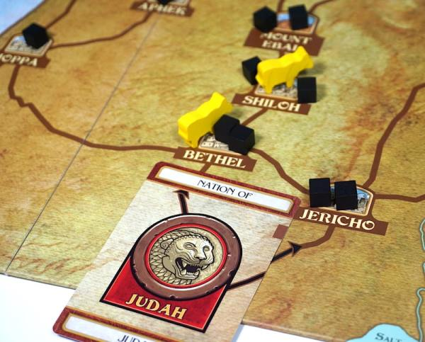 Nation of Judah card starts chain reaction