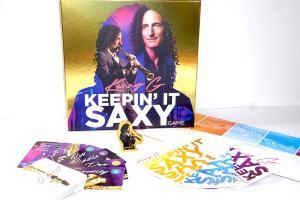 Kenny G: Keepin It Saxy boardgame