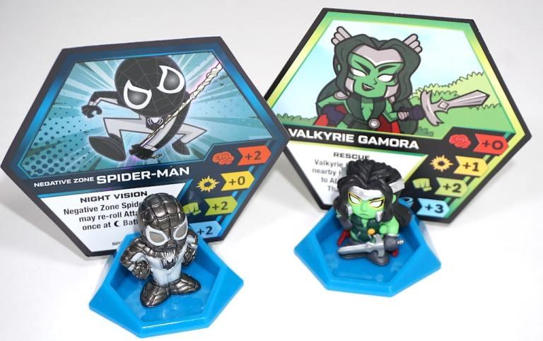Negative Zone Spider-Man: Night Vision... Valkyrie Gamora: Rescue...