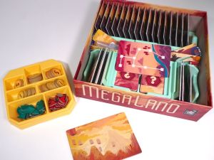 MegaLand with Game Trayz organizer