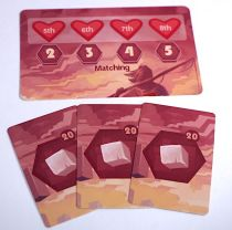 MegaLand: three treasures and heart card
