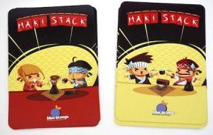 Maki Stack - Mask card and Chopsticks card