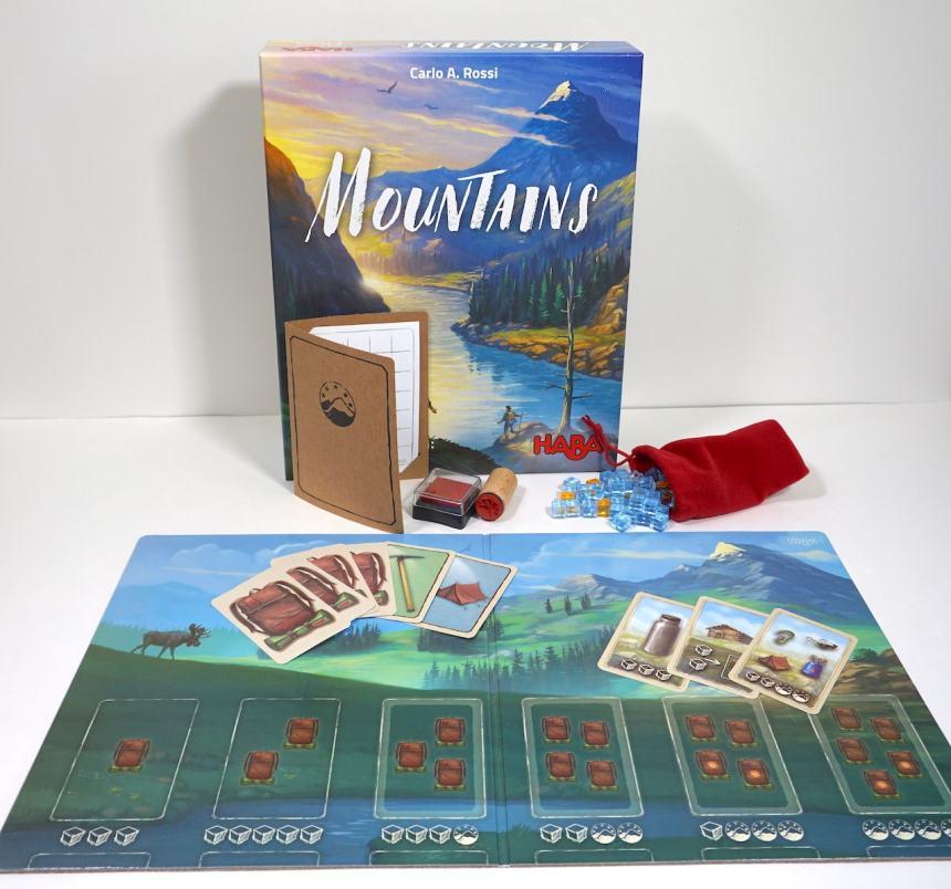 Mountains game