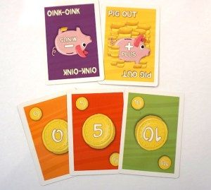 Piggy Bank coin cards
