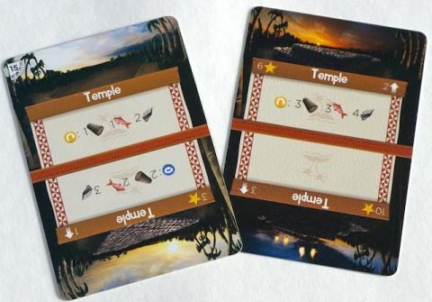 Palm Island temple card