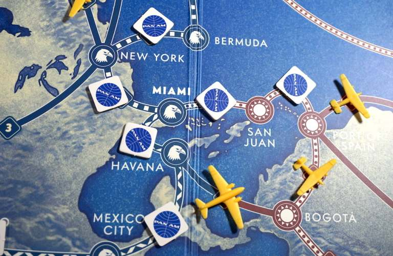 Pan Am tokens around Miami