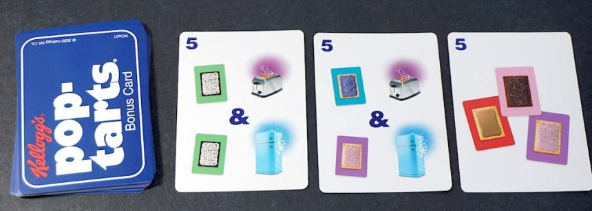 Kellogg's Pop-Tarts Bonus Cards