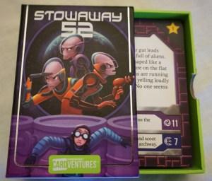 Cardventures Stowaway 52 box