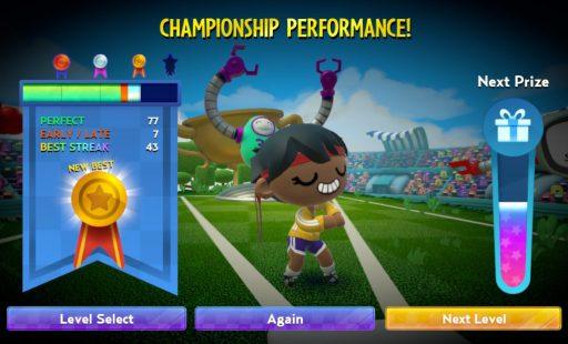 Championship Performance! Next Level?