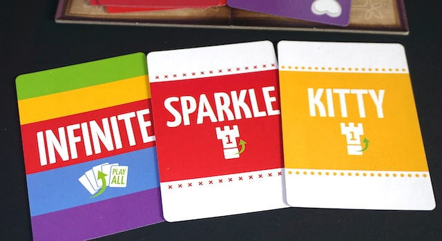 Special cards: Infinite, Sparkle, Kitty