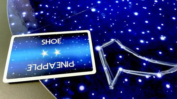 Constellation drawing: Shoe