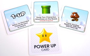 Super Mario Level Up: Power Up cards